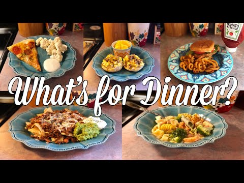 What's for Dinner?| Easy & Budget Friendly Family Meal Ideas| July 15-21, 2019