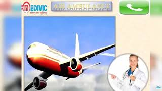 Get Air Ambulance Service in Bangalore and Varanasi by Medivic Aviation
