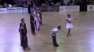 Kyiv Open 2014 Юниоры 1  латина финал