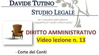 Diritto Amministrativo Video lezione n.13 : Corte dei Conti e conferenze permanenti