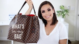 WHATS IN MY BAG | LOUIS VUITTON GRACEFUL MM