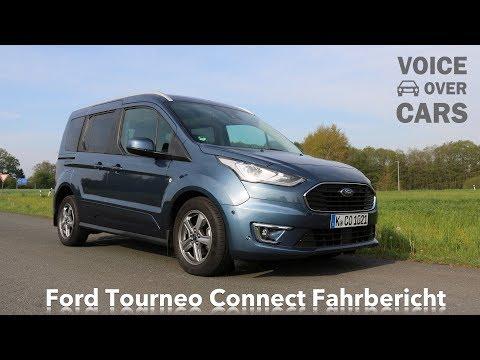 2019 Ford Tourneo Connect Fahrbericht Test Review Kaufberatung Tops & Flops Meine Meinung - Deutsch