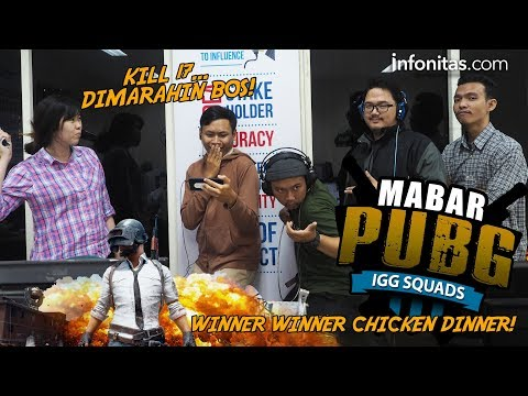 Main Bareng PUBG IGG Squad, 17 Kill ! Chicken Dinner #MABARPUBG
