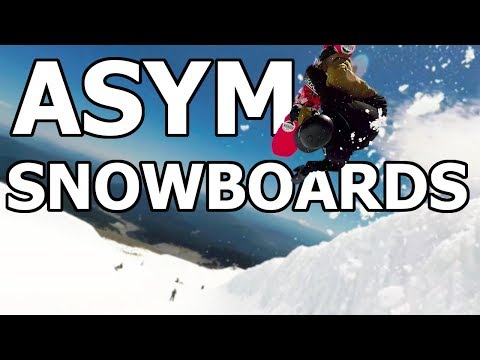 Do You NEED an Asymmetrical Snowboard?