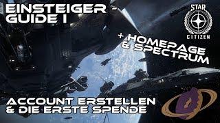 Star Citizen - Einsteiger Guide #1 [Deutsch]