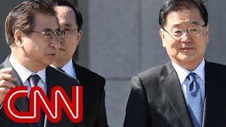 Kim Jong Un meets with South Korean officials