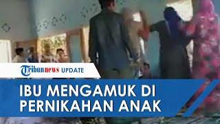 POPULER: Video Detik-detik Ibu Ngamuk di Depan Penghulu Hentikan Pernikahan Anaknya: Stop Bapak