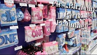 First Birthday Party Planning! (Vlog)