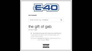 "E-40 ""Who You Talking To"" Feat. Kent Jones"