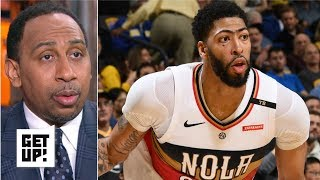 Stephen A. applauds Anthony Davis for playing despite not being traded | Get Up!