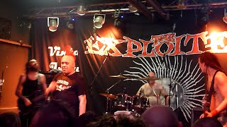 THE EXPLOITED - S.P.G. - Live @ Vintage Industrial Bar Zagreb 13.07.2015