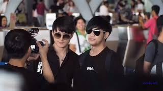 30.6.2018 ส่ง คริส สิงโต ไปงาน Fan Meeting In Singapore At Suvarnabhumi Airport