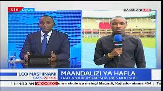 Matayarisho katika uwanja wa Kasarani yaendelea mbele ya kuapishwa kwa rais mteule Uhuru Kenyatta