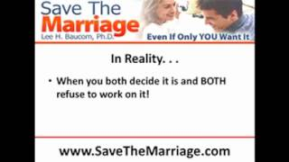 Is Your Marriage Too Far Gone?