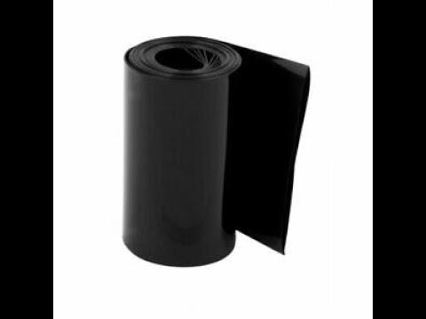 1m PVC Heat Shrink Tubing Black da Banggood
