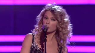 Taylor Swift Age 17 Picture To Burn ACMA 2007