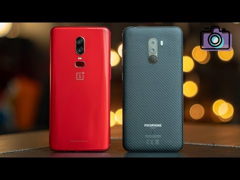 Xiaomi Pocophone F1 vs OnePlus 6 Camera Comparison!