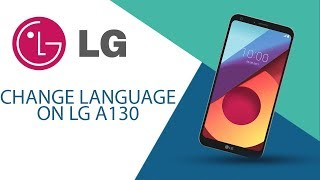 How to change language on LG A130?