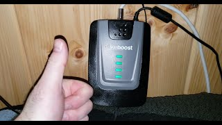 WEBOOST Cell Signal Booster at the Cabin - Unbox, Install, and Review!