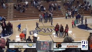 Boys Basketball Sectional #37 (Oak Hill) Oak Hill vs Wabash