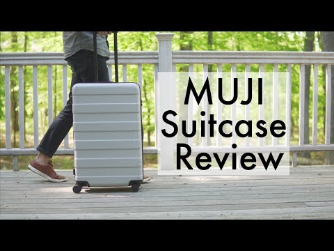 Away Luggage Killer! Muji Suitcase Review