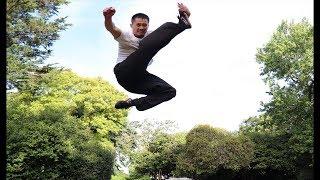 Tornado Kick Tutorial for Beginners | Shaolin Kung Fu/Wushu Training