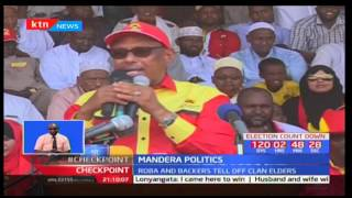 Jubilee supporters in Mandera gathered at Moi Stadium to launch the Jubilee line-up