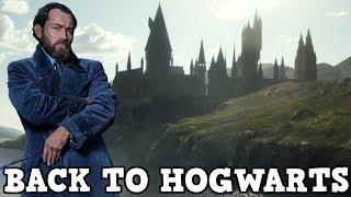 Fantastic Beasts: The Crimes of Grindelwald - Back to Hogwarts Promo Breakdown
