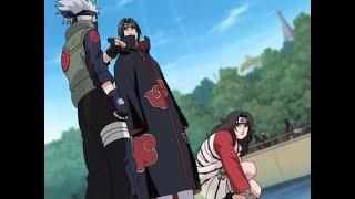 Kakashi,Kurenai,Asuma & Jiraya & Naruto VS Itachi & Kisame ( Full Fight )