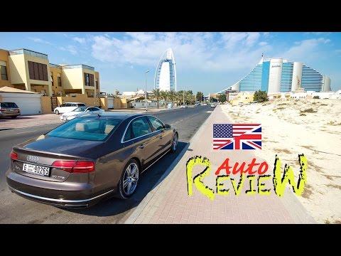 2015 Audi A8L 60 TFSI quattro tiptronic - AutoReview - Dubai (Episode 46) [ENG]