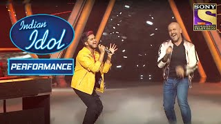 Kunal और Vishal ने दिया 'Kurbaan Hua' पे High-Energy Performance | Indian Idol Season 10