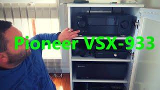 Pioneer VSX 933 7 2 2ch AV RECEIVER   Dolby Atmos DTS X  TrueHD  DTS HD Master Audio  Ultra HD