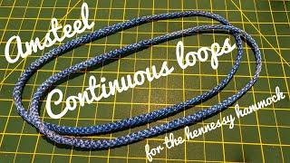 Amsteel Continuous Loop For Hennessy Hammock