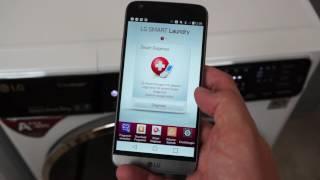 LG-Waschmaschine F14U1TBS2H: NFC Tag On-Funktion im Test
