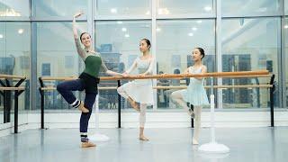 Hong Kong Ballet - Barre Classes Online - Intermediate Class 1