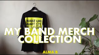 MY BAND MERCH COLLECTION // MARCH 2020