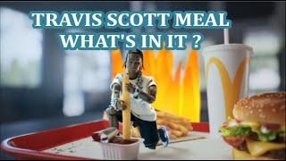 McDonald's Travis Scott Meal - What's in it?