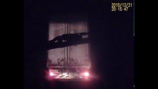 Смотреть онлайн Страшное ДТП на трассе Барнаул-Бийск