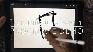 Techniques Part 1 - Procreate Demo
