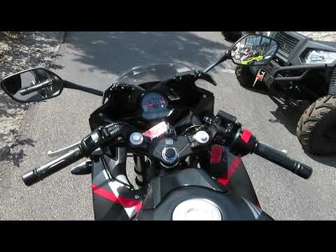 2019 Honda CBR300R in Sanford, Florida - Video 1