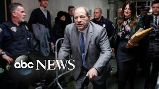 Harvey Weinstein found guilty of 2 out of 5 charges in monumental trial   Nightline