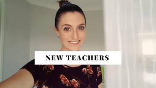 What I Wish I Knew As A NEW TEACHER | TIPS FOR BEGINNING TEACHERS 🌈