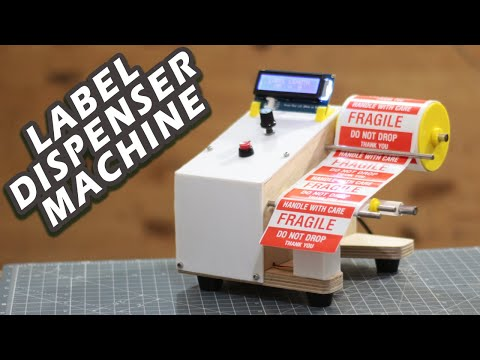An Automatic Label Dispenser for Quicker Stickers
