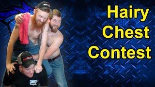Hairy Chest Contest At Thoroughbred Diesel Judgement Day