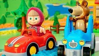 Видео с игрушками - новая машина. Игрушечные мультфильмы для детей на русском