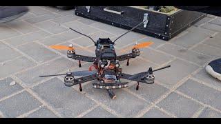 اول تجربة على طائرة السباق قمنا بتجميعها (Racing Drone ) مع جمال العمواسي