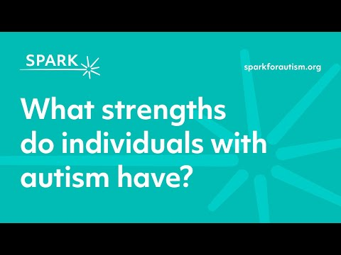 What strengths do individuals with autism have image
