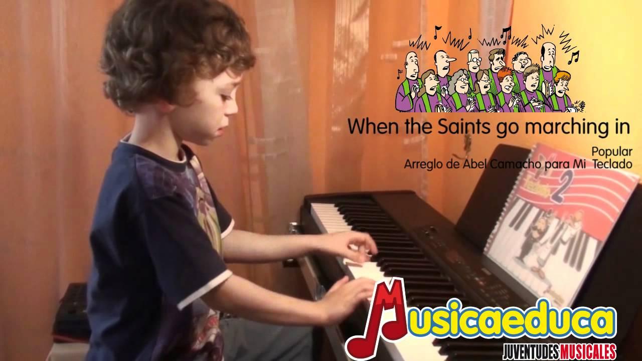 When the Saints go marching in - Mi Teclado 1
