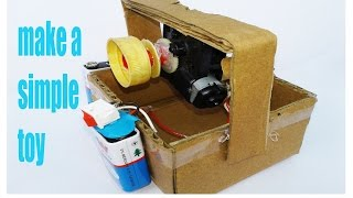 How To Make A Ropeway-DIY Handmade Toys