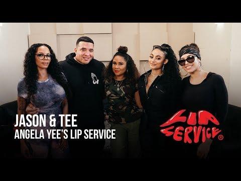 Angela Yee's Lip Service Ft. Jason Lee & Tee